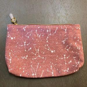 Ipsy Celestial Zodiac Pink Glam Bag No Product NEW